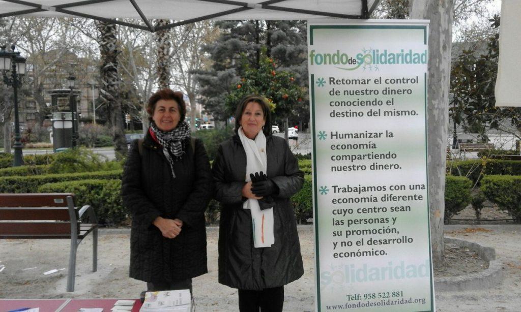 Stand de Fondo de Solidaridad en el ecomercado 2018